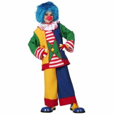 Clown carnavalspak voor kinderen