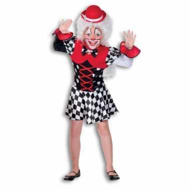Clown carnavalspak voor meisjes