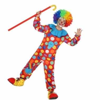 Clown dots carnavalspak voor jongens