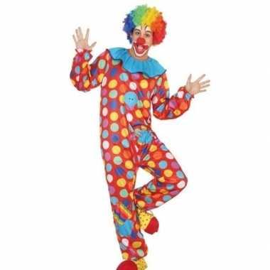 Clown verkleed pak/carnavalspak voor heren