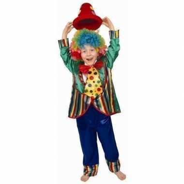 Clowns carnavalspak voor kinderen