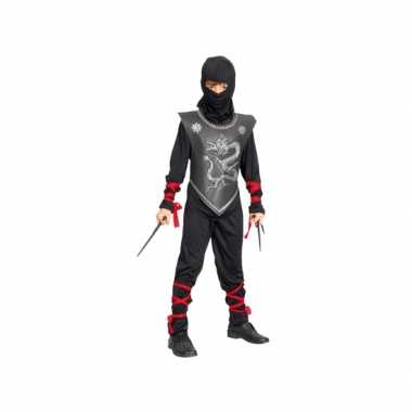 Compeet ninja carnavalspak voor kinderen