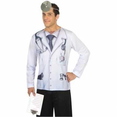 Compleet dokter carnavalspak voor heren