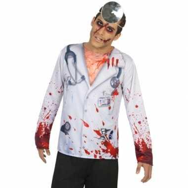 Compleet horror dokter carnavalspak voor heren