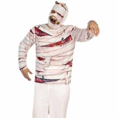 Compleet mummie carnavalspak voor heren
