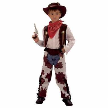 Cowboy carnavalspak voor kinderen