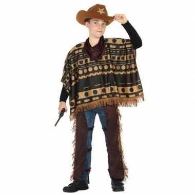 Cowboy/western pak/verkleed carnavalspak voor jongens