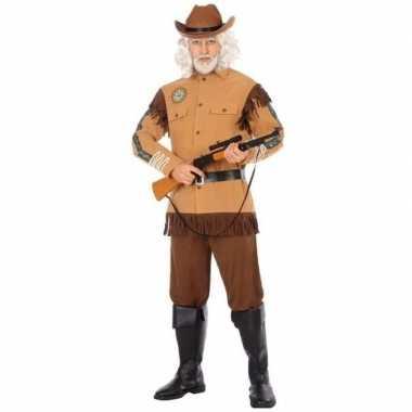 Cowboy/western verkleed carnavalspak wild bill voor heren