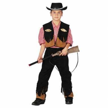 Cowboycarnavalspak voor kinderen