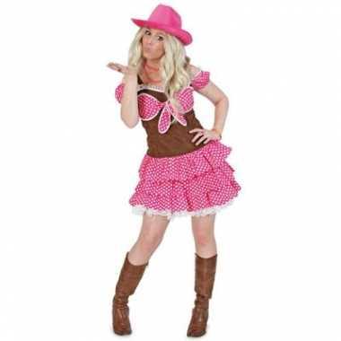 Cowgirl carnavalspak dolly