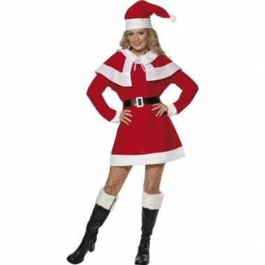 Dames kerstcarnavalspak jurkje