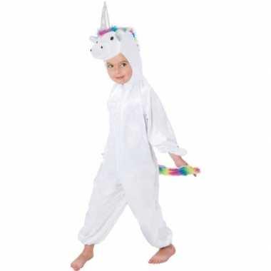 Dierenpak eenhoorn rainy onesie verkleed carnavalspak voor kinderen