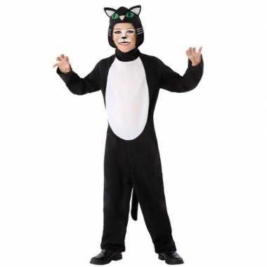 Dierenpak kat/poes verkleed carnavalspak voor kinderen
