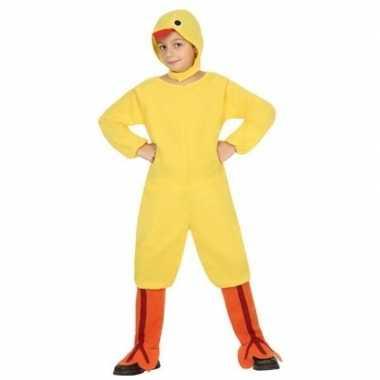 Dierenpak kip/kuiken/haan verkleed carnavalspak voor kinderen