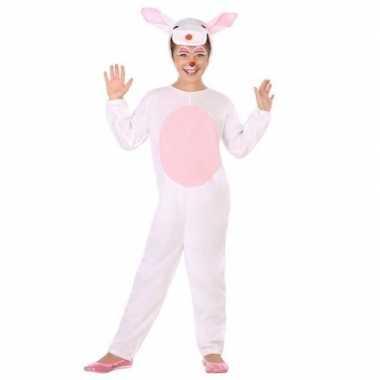 Dierenpak konijn/haas verkleed carnavalspak voor kinderen