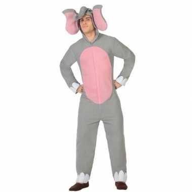 Dierenpak olifant verkleed carnavalspak voor volwassenen