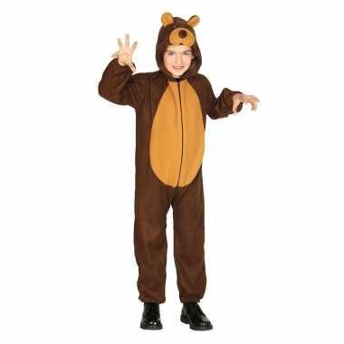 Dierenpak verkleed carnavalspak beer voor kinderen