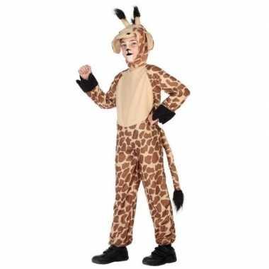 Dierenpak verkleed carnavalspak giraffe voor kinderen