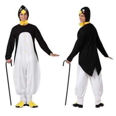 Dierenpak verkleed carnavalspak pinguin voor volwassenen