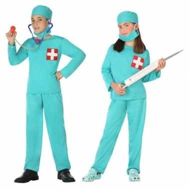 Dokter/chirurg verkleed carnavalspak voor jongens en meisjes