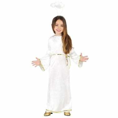 Engel sariel verkleed carnavalspak/jurk voor meisjes