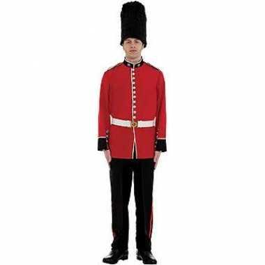 Engels officiers carnavalspak
