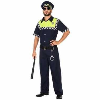Engelse politie verkleed pak/carnavalspak voor volwassenen