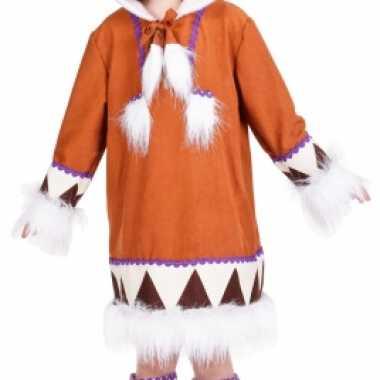 Eskimo carnavalspak met laarshoezen voor meisjes