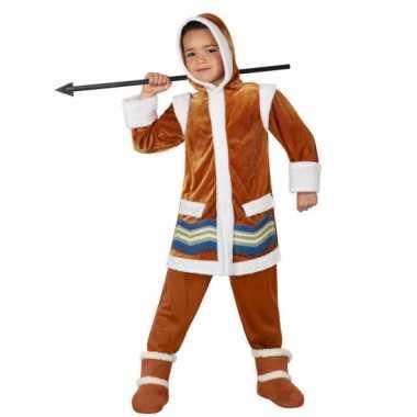 Eskimo carnavalspak voor kids