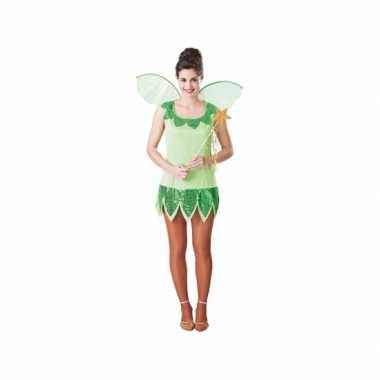 Fee carnavalspak groen voor dames