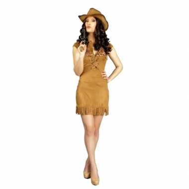 Feest cowboy verkleedcarnavalspak dames
