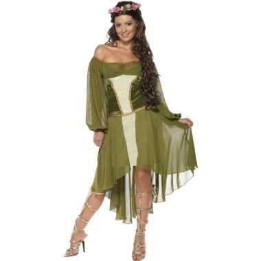 Feest middeleeuwse verkleedcarnavalspak voor dames