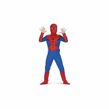 Feest spiderman carnavalspak