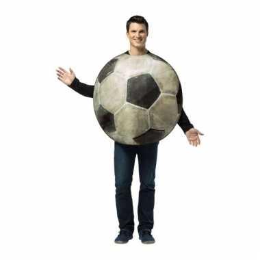 Feest voetbal verkleedcarnavalspak voor volwassenen