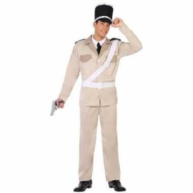 Franse gendarmerie/politie verkleed pak/carnavalspak voor volwassenen