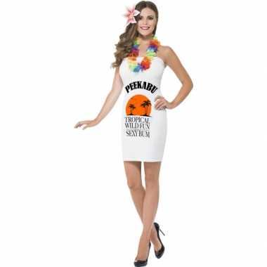Fun carnavalspak dames peekabu