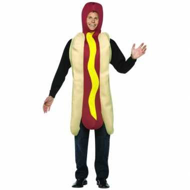 Funny carnavalspak hot dog