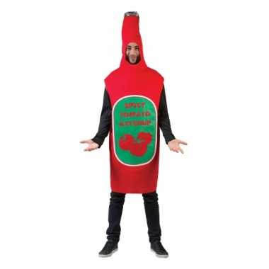 Funny carnavalspak pak ketchup