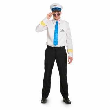 Funny piloot carnavalspak voor heren