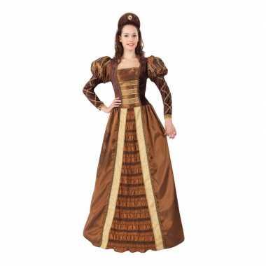 Geschiedenis middeleeuwse prinses damescarnavalspak