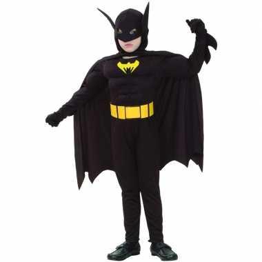 Gespierde vleermuis superheld kinder carnavalspak
