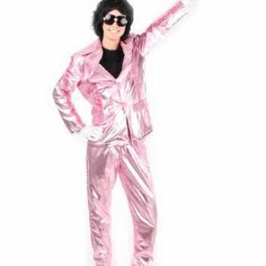 Glitter en glamour pak roze