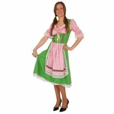 Groene oktoberfest carnavalspak voor dames