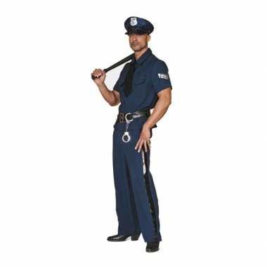 Grote maten politie carnavalspak