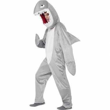 Haaien carnavalspak pak voor volwassenen