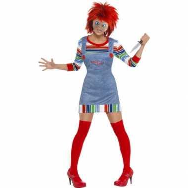Halloween dames carnavalspak Chucky