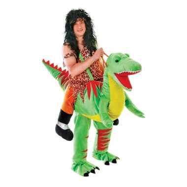 Hang carnavalspak dinosaurus voor volwassenen