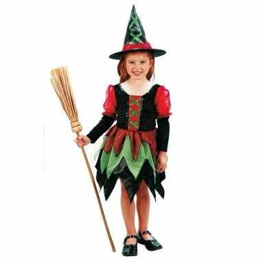 Heksen carnavalspak meisje