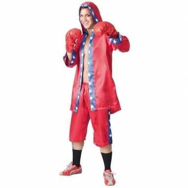 Heren carnavalspak bokser