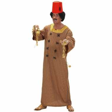 Heren carnavalspak marrokaans bruin